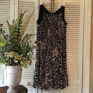 Animal Print Sleeveless Dress (12)